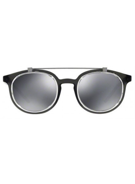 DOLCE & GABBANA DG6116 TRANSPARENT GREY/GREY MIRROR S.49
