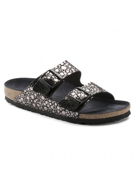 BIRKENSTOCK ARIZONA BF METALLIC WOMAN SANDALS
