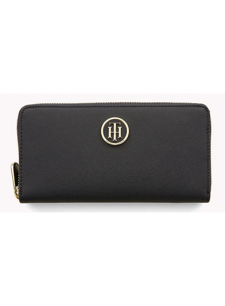 TOMMY HILFIGER CHARMING NAVY/ EDGE PAINT WALLET