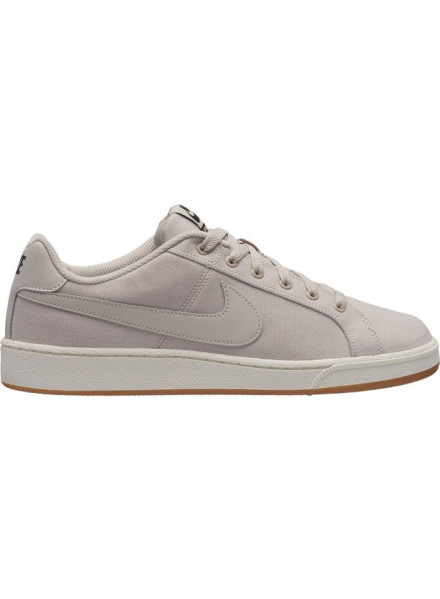 NIKE SNEAKERS COURT ROYALE CANVAS BEIGE MEN