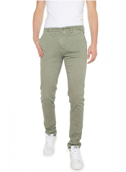 Replay Hiperflex Stretach Sage Green  Man Jeans