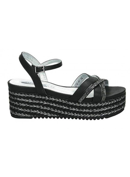 Francesco Milano black sandal woman