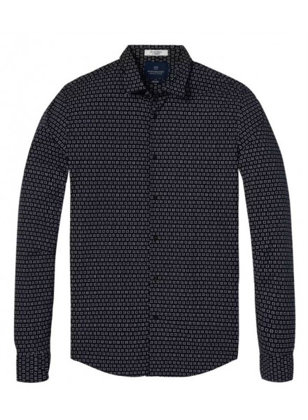SCHOTCH & SODA LONGSIEVE COMBO B MAN SHIRT