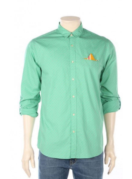 SCHOTCH & SODA FIXED POCHET MAN SHIRT