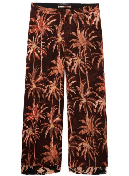 MAISON EXTRA WIDE COMBO B WOMAN PANTS