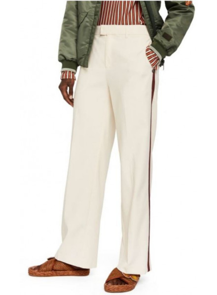 Maison Wide Leg Stretch Woman Pant