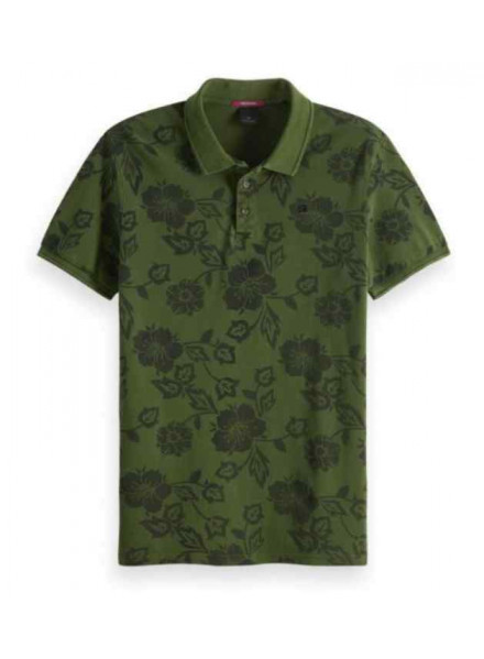 Scotch & Soda Classic Garment Combo B Man Polo