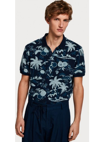 Scotch & Soda Indigo Man Polo
