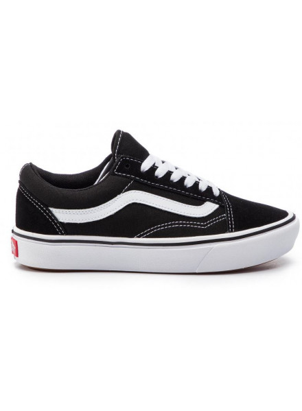 Vans Comfycush Skool Black/White Shoes