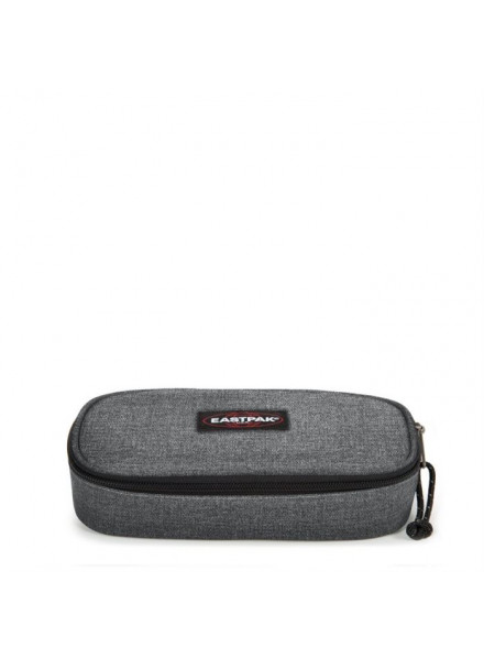 EASTPAK OVAL SINGLE BLACK DENIM CASE