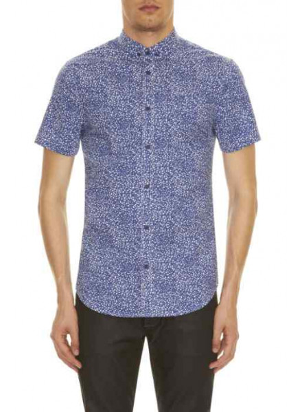 ARMANI EXCHANGE BLUEDEPTHS SHANGAI MAN SHIRT