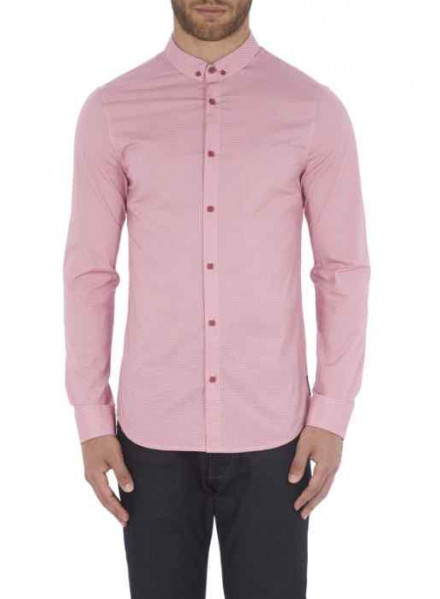 ARMANI EXCHANGE HEATHERROSE LITTLE MAN SHIRT