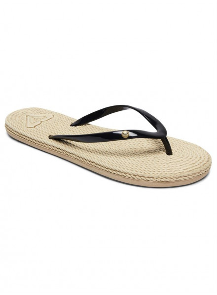 ROXY SOUTH BEACH II BLK FLIP FLOPS WOMAN