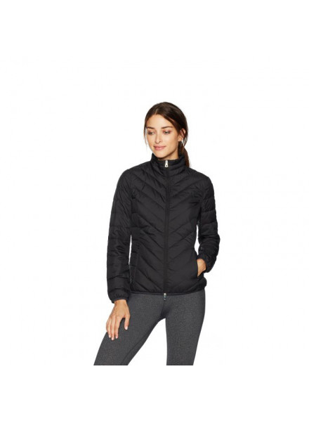 EA7 BLACK JACKET WOMAN