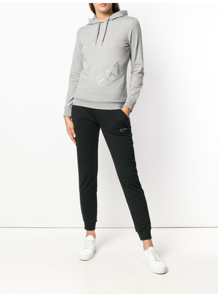 EA7 JACKET GREY/BLACK WOMEN