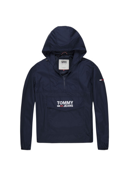 TOMMY HILFIGER POP OVER BLACK IRIS JACKET