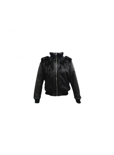 REVERSIBLE JACKET EA7 BLACK WOMAN
