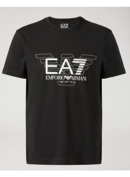 EA7 T-SHIRT MAN BLACK
