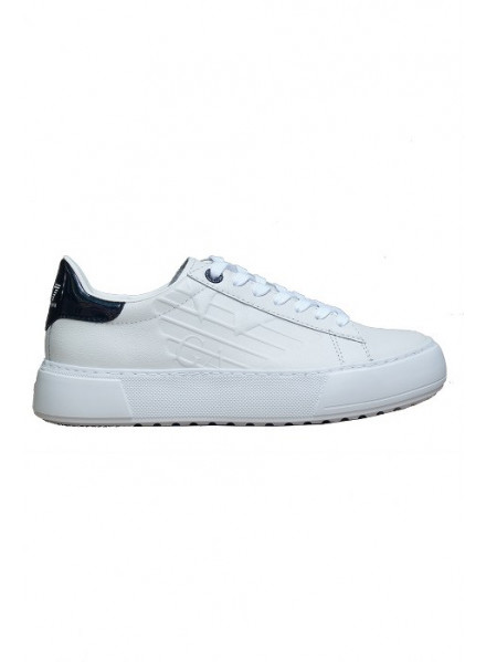 EA7 SNEAKERS WHITE/BLACK WOMEN