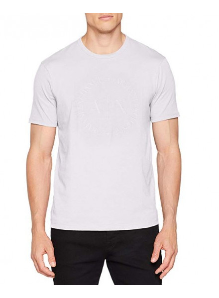 ARMANI EXCHANGE MAN WHITE T-SHIRT