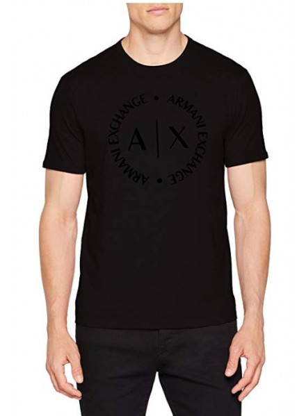 ARMANI EXCHANGE MAN BLACK T-SHIRT