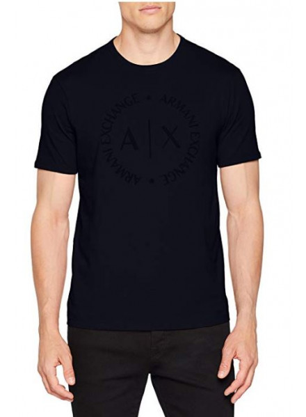 ARMANI EXCHANGE MAN T-SHIRT NAVY
