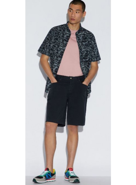 Armani Exchange Navy Man Shorts