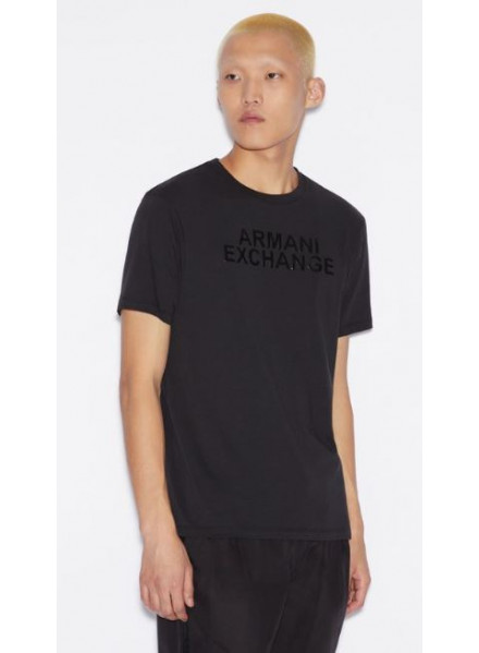 Armani Exchange Black Man T-Shirt