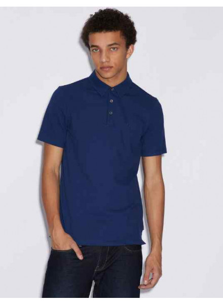 Armani Exchange Blue Depth Man Polo