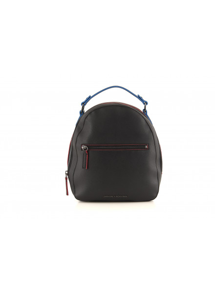 Armani Exchange 00020 Black Backpack