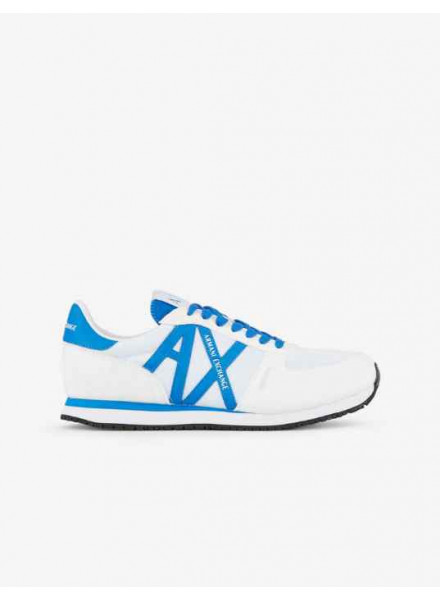 Armani Exchange White/Blue Man Shoes