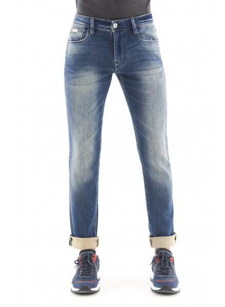 Armani Exchange Indigo Denim Jeans Man