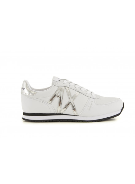 Armani Exchange White Woman Shoes