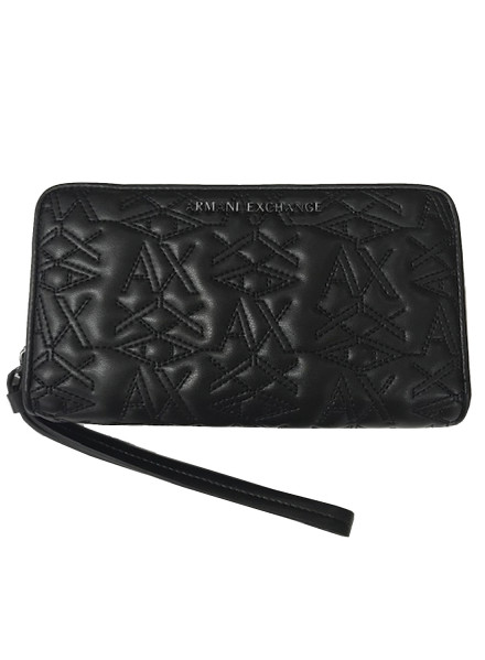 Armani Exchange 00020 Black Wallet