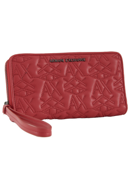 Armani Exchange Red Wallert Woman