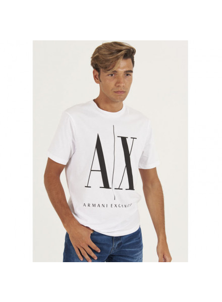 Armani Exchange White T-Shirt Man