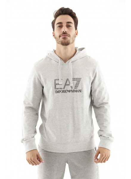 EA7 Grey Sweatshirt Man