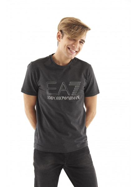 EA7 Carbon Melange T-shirt Man