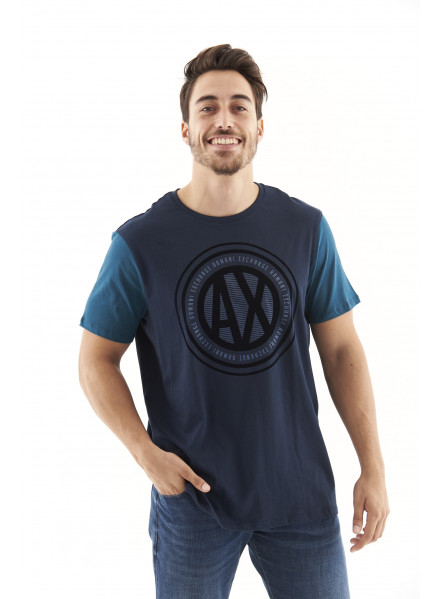 Armani Exchange Navy T-shirt Man
