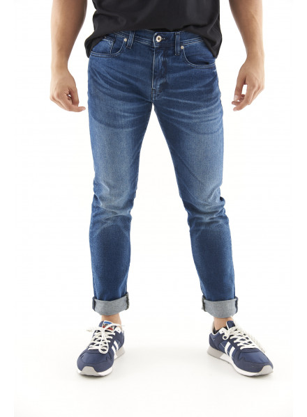 Armani Exchange Denim Indigo Pants Man