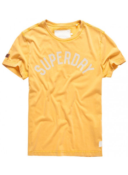 SUPERDRY SOLO SPORT GOLD SHIRT MAN