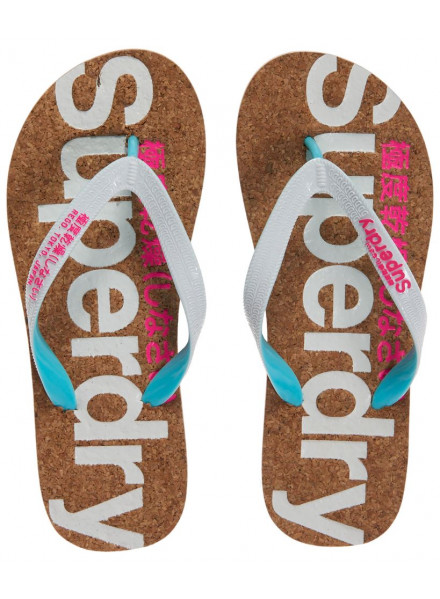 SUPERDRY CORK WHITE/PINK WOMAN