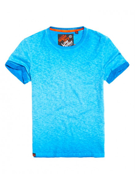 SUPERDRY LOW ROLLER DEEP TURK TSHIRT MAN
