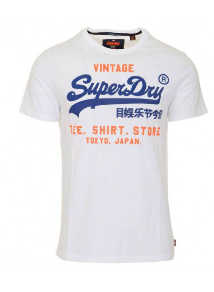 SUPERDRY SHOP DUO LITE OPTIC WHITE MAN T-SHIRT