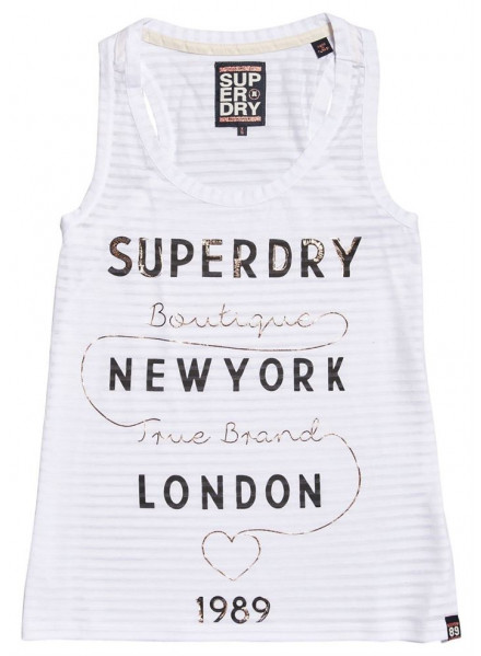 SUPERDRY TRUE BRAND OPTIC WOMAN T-SHIRT