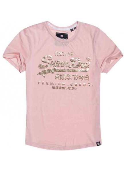 Superdry Goods Puff Foil I Lotus Marl Man T-Shirt