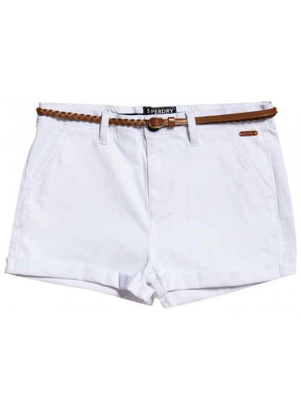 Superdry Chino Hot White Woman Short