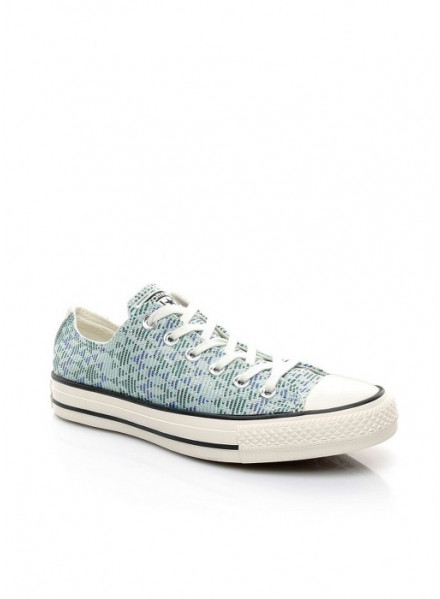 CONVERSE SHOES CHUCK TAYLOR ALL STAR RAFFIA BLUE WOMEN
