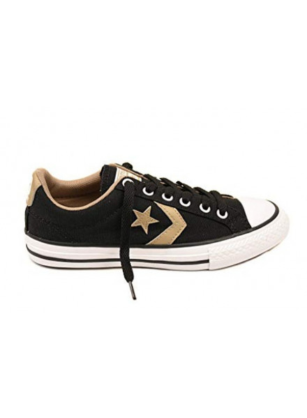 CONVERSE SHOES STAR PLAYER ALL STAR BLACK/GOLD WOMEN