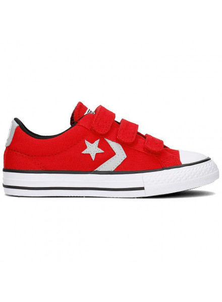 CONVERSE SHOES STAR PLAYER ALL STAR RED KIDS